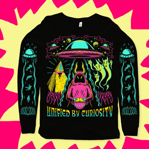 Unified By Curiosity Longsleeve Tee