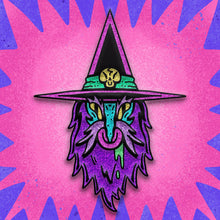 Load image into Gallery viewer, Wizard Enamel Pin (BLINDBAGGED)