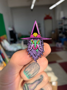 Wizard Enamel Pin (BLINDBAGGED)