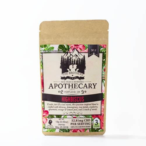 APOTHECARY HEMP TEA | HIGHBISCUS
