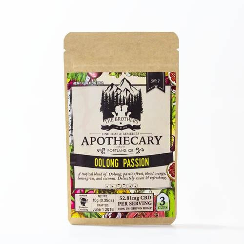 APOTHECARY HEMP TEA | OoLONG PASSION