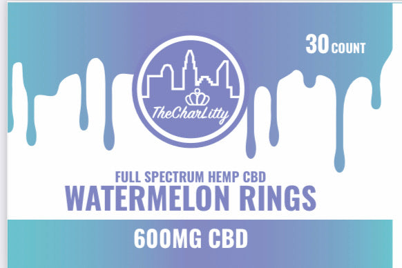 The Charlitty Watermelon Rings