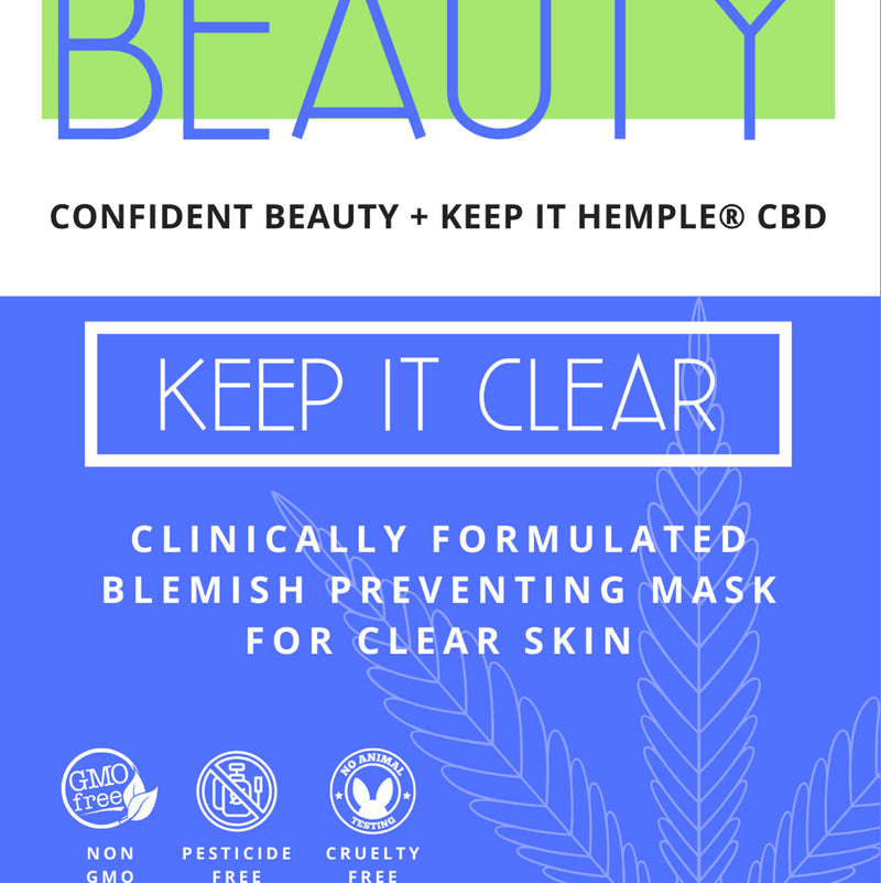 Keep it Clear | Clinically-formulated Blemish Control Sheet Mask