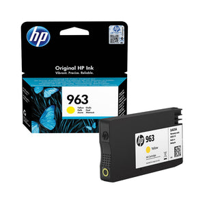 Genuine HP 963, Standard Capacity Yellow Ink jet Printer Cartridge, 3JA25, 3JA25AE