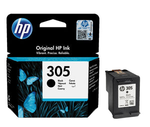 Genuine HP 305, Black & Tri-Colour Ink Cartridges, 3YM61AE