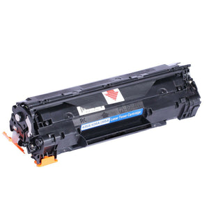 1 Black Compatible Toner Cartridge, Replaces For HP 35A, CB435, CB435A, NON-OEM