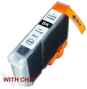 Compatible C8B, Black Ink jet Print Cartridge, Replaces For Canon CLI8BK, CLI-8BK NON-OEM