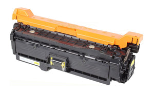 Compatible 507A, Yellow LaserJet Toner Cartridge, Replaces For HP 507A, CE402A, NON-OEM