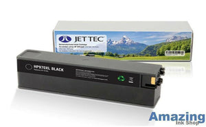 JetTec H970XL Black High Capacity Ink jet Print Cartridge, FOR HP 970XL CN625AE