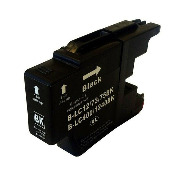 Compatible 1240 Black Ink jet Printer Cartridge, Replaces For Brother LC-1240BK NON-OEM