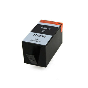 1 Black Compatible Ink Cartridge, Replaces For HP 934XL, C2P23, C2P23AE NON-OEM