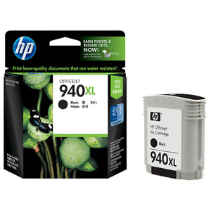 Genuine HP 940XL Black Original Ink jet Print Cartridge C4906 C4906A C4906AE