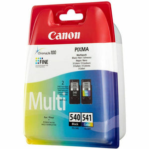 Canon PG-540 & CL-541 Black And Colour Ink jet Print Cartridges PG540, CL541