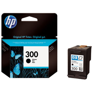 Genuine HP 300, Vivera Black Original Ink Jet Printer Cartridge, CC640, CC640EE
