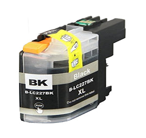 1 Black Compatible Ink Cartridge For Brother LC227XLBK, LC-227XLBK, NON-OEM