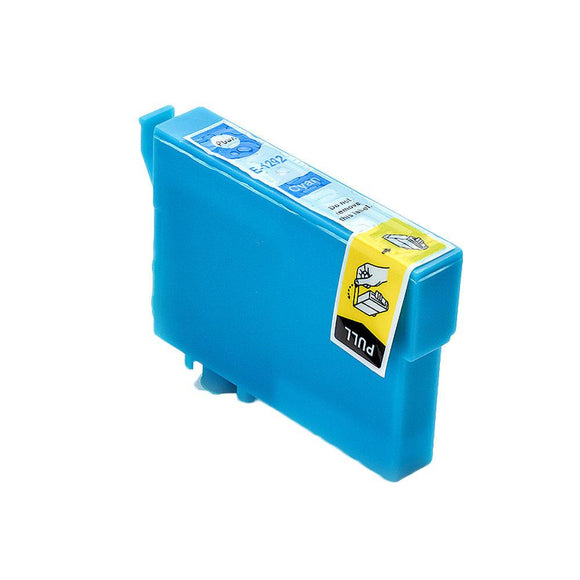 1 Compatible 1292 High Capacity Cyan Ink Cartridges, Replaces For Epson T1292, NON-OEM