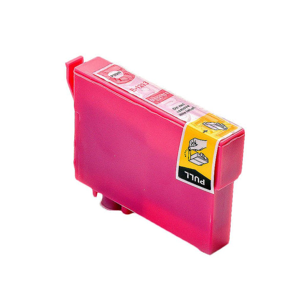 1 Compatible High Capacity Magenta Ink Cartridge, Replaces For Epson T1293, T129340 NON-OEM