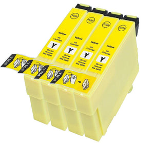 4 Compatible 29 XL, Yellow Ink Cartridges, For Epson 29XL, T2994, T299440 NON-OEM