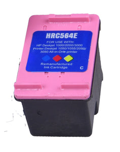 Compatible High Capacity Tri-Colour Ink Cartridge, Replacement Replaces For HP 301XL, CH564EE