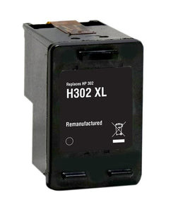 Compatible 302 XL, High Capacity Black Ink Cartridge, For HP 302XL, F6U67AE