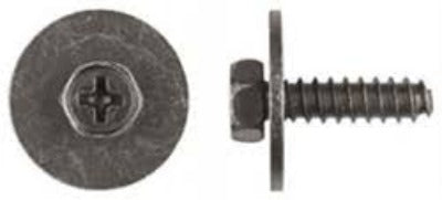 Phillips Hex Indented Head Sems Screw M5-1.59 x 18mm