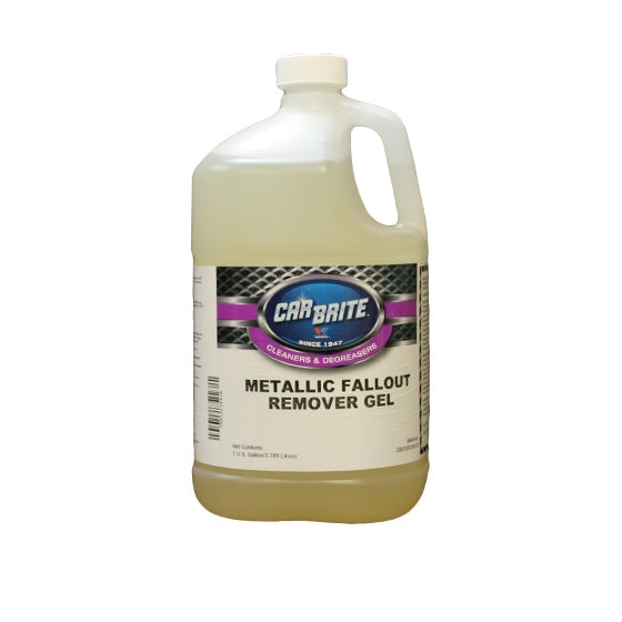 Car Brite Metallic Fallout Remover Gel