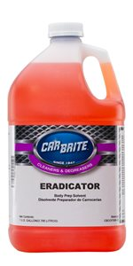 Car Brite Eradicator Body Prep Solvent
