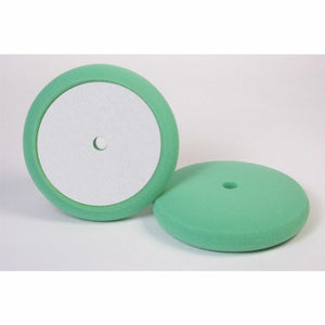 "Hi-Buff (Classic Design) Foam Light Cut Pad (Flat Buffing Surface) 8"" Green"