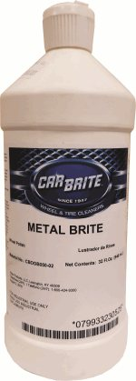 Car Brite Metal Brite Polish