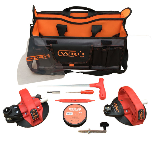 WRD Pro6 System 2-in-1 Base Kit 150 Auto Glass Removal Tool Kit