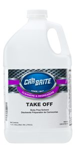 Car Brite Take Off Body Prep Solvent