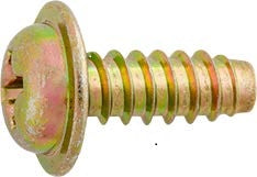 License Plate Attaching Screw Phillips Washer Head M6.3-181 x 16mm