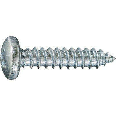 Phillips Pan Head AB Tapping Screw #10 x 1