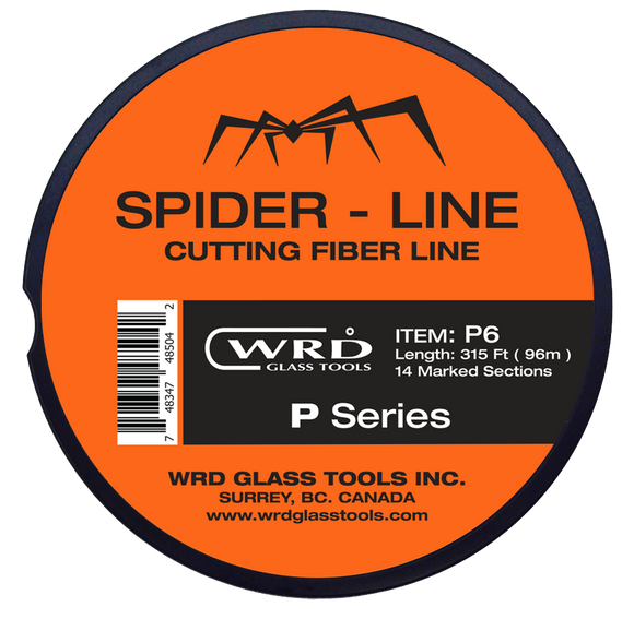 WRD Spider Line P6 Series Super Thin Cutting Line 315 Feet