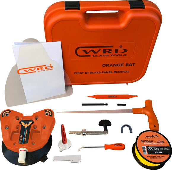 WRD Orange Bat - Kit -300K Glass Removal Tool Kit ((New Dual Spindle Design)