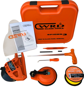 WRD Spider 3 Kit 300K Auto Glass Removal Tool Kit