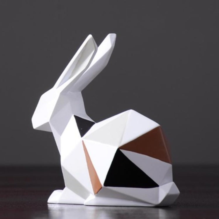 Décoration lapin origami