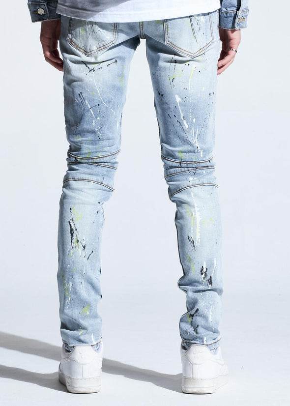 Crysp Skywalker Biker Denim
