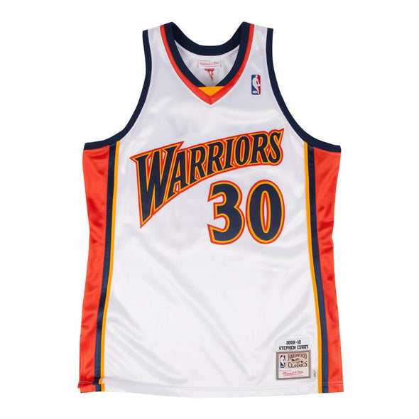 Stephen Curry 2009-10 Authentic Jersey Golden State Warriors