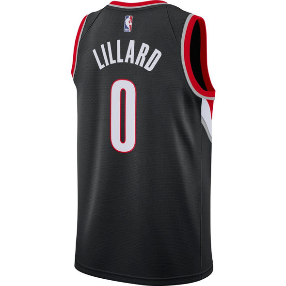 Damian Lillard Trail Blazers Icon Edition Nike NBA Swingman Jersey