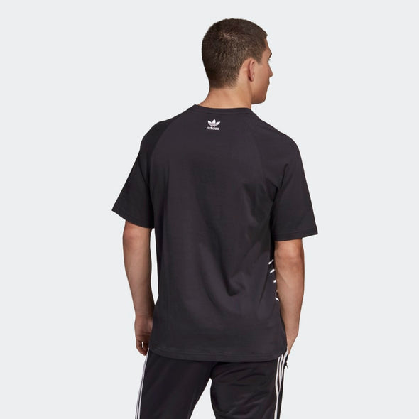Men's Adidas Big Trefoil Outline Tee