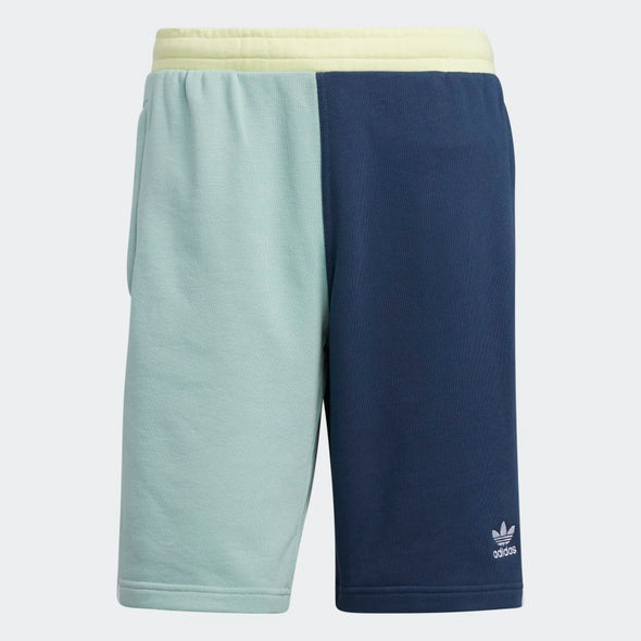 Men's Adidas Blocked 3-Stripes Sweat Shorts
