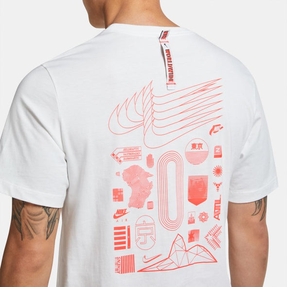 Nike Sportswear Men's T-Shirt Worldwide Flashy Crest