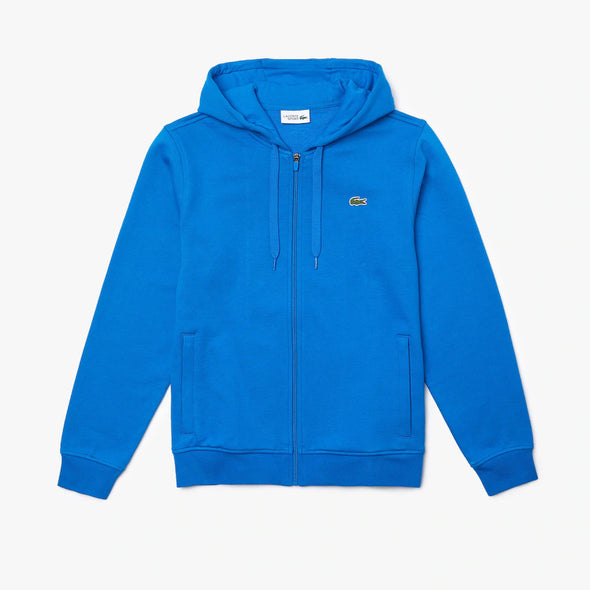 Lacoste Men's SPORT Hooded Lightweight Bi-material Sweatshirt