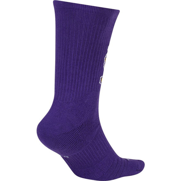 NBA Los Angeles Lakers Nike Elite Crew Socks