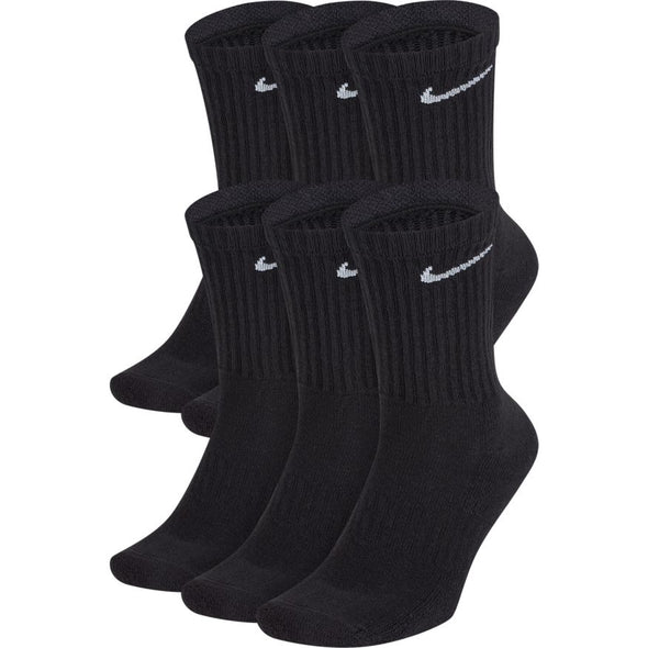 Nike Everyday Cushioned Training Crew Socks (6 Pairs)