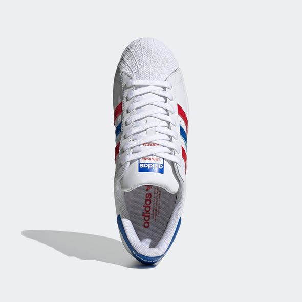 Men's Adidas Superstar Shoes 'Americana'