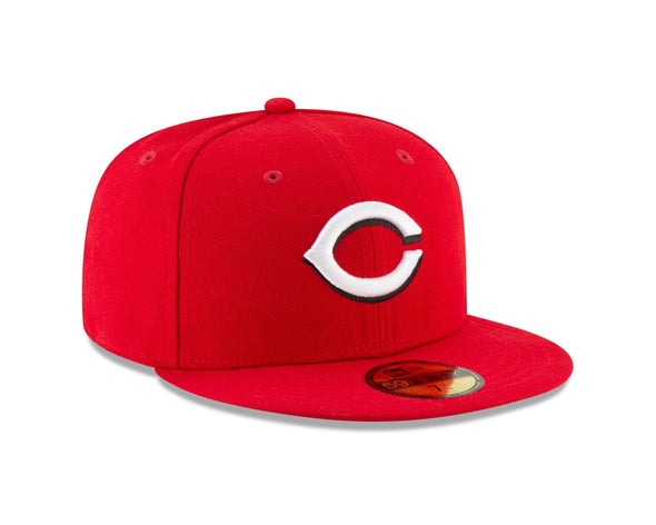 New Era MLB Cincinnati Reds Authentic Collection 59FIFTY Fitted Hat