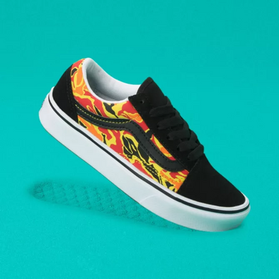 Vans UY ComfyCush Old Skool (Flame Camo)
