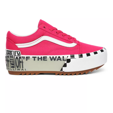 Women's Logo Stack Old Skool Stacked Vans